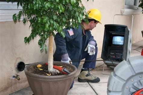 sewer inspection in los angeles plumbers los angeles