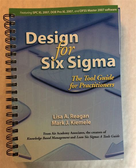 Six Sigma Products Group Design For Six Sigma The Tool