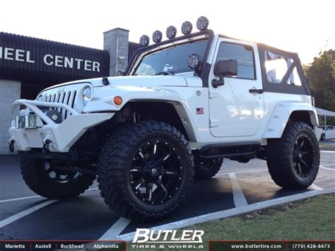 Jeeps On Gas Jeep Wrangler With 22in Fuel Maverick Wheels Exclusively