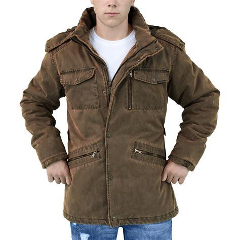 Jaket Suprame surplus xylontum supreme mens jacket warm hooded parka water resistant brown ebay