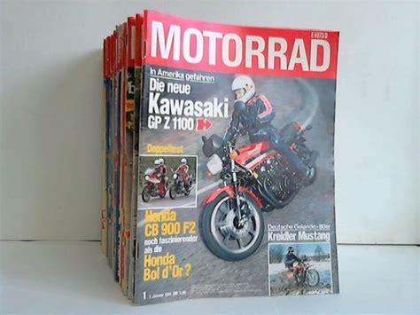 Motorrad Online Heft by Motorrad Die Gro 223 E Motorrad Zeitschrift Jahrgang 1981