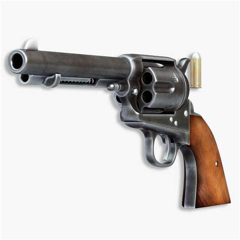 peace maker colt handgun peacemaker 2 3d model