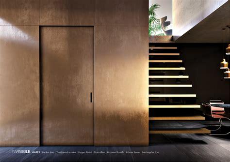 porta l invisibile porte a raso muro geomix