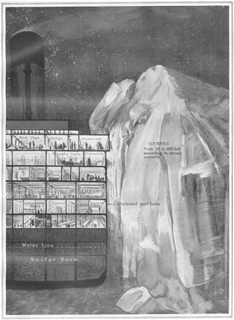 imagenes historicas del titanic fotos hist 243 ricas secci 243 n transversal de la cubierta del