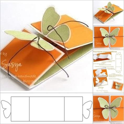 Handmade Card Templates - how to make handmade birthday cards step by step