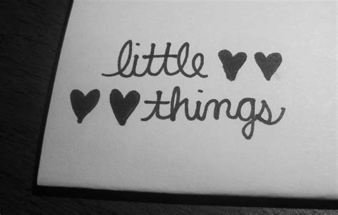 little things the little things in life