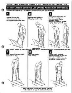 How To Walk Up The Stairs With Crutches by Crutch Walking Stairs Submited Images