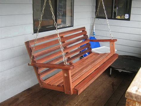 swing bench plans outdoor awesome wood porch swing for outdoor patio