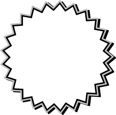 printable starburst printable starburst template cliparts co