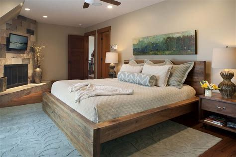 Platform Bedroom Design Magnificent Solid Wood Platform Bed Frame Decorating Ideas Gallery In Bedroom Contemporary