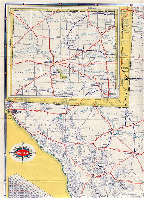 texas panhandle road map texasfreeway gt statewide gt historic information gt road maps