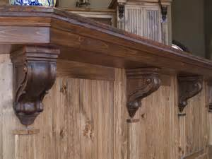 Corbels For Kitchen Island by How To Install Corbels And Brackets Osborne Wood
