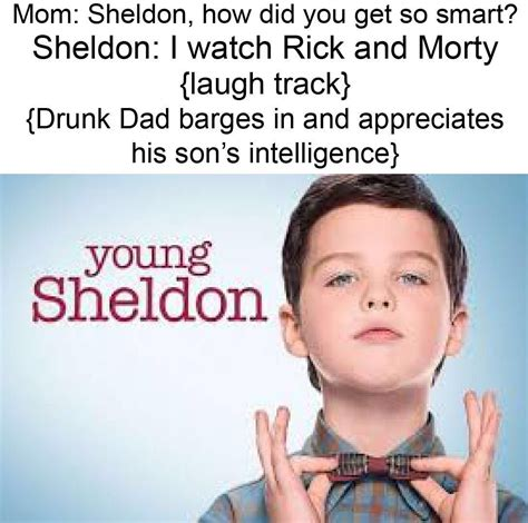 Young Sheldon Memes - that explains it memes pinterest