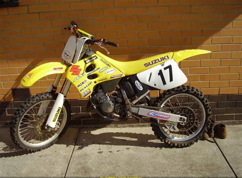 Suzuki Rm 125 1995 Pin 1995 Suzuki Rm125 Id 270447 On