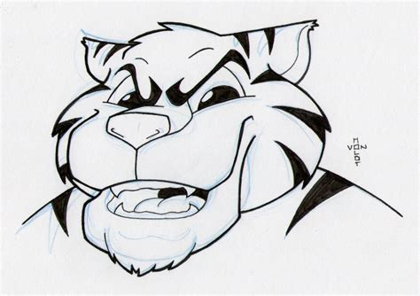 how to draw a doodle tiger tiger doodle a day