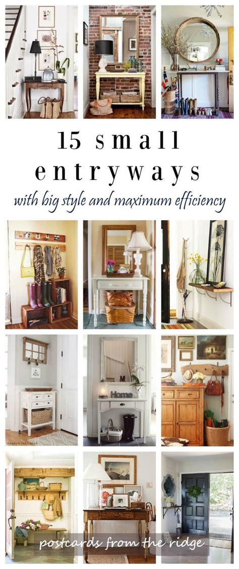 25 best ideas about small entryway organization on 15 fresh ideas for small entryways home entrances
