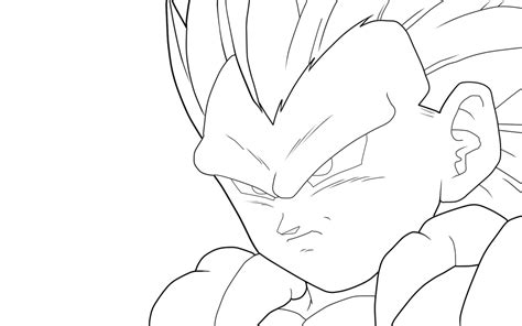 gotenks super sainy 5 free coloring pages