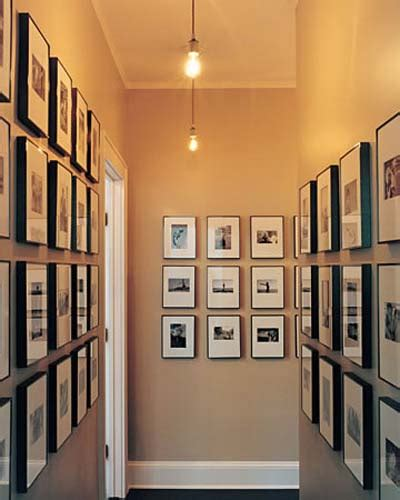 ideas on hanging pictures in hallway 30 fotos ideas y consejos para decorar un pasillo mil
