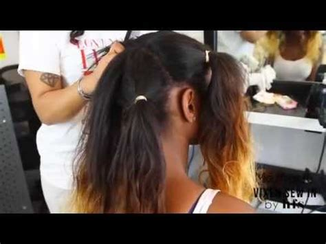versatile sew in weave with sassy mitchell hair styled by hfs vixen sew in 映画速報