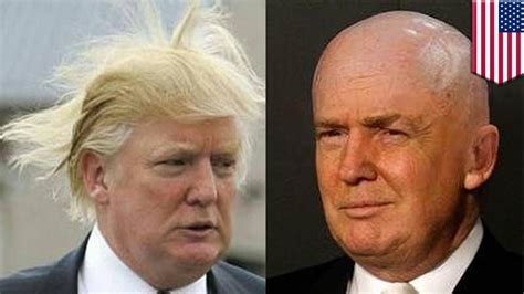 donald trumps hair explained donald trump s hair explained trump uses propecia a hair