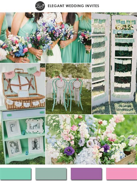 top 10 wedding color ideas for 2015 trends