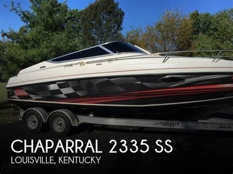 chaparral boats louisville ky chaparral 23 boat for sale in louisville ky for 18 995