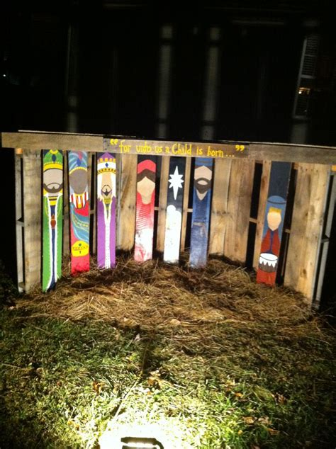 Nativity Yard Decor by 25 Unique Yard Ideas On Large