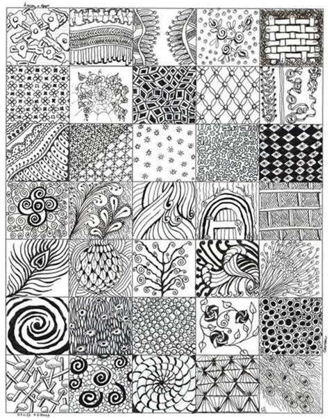 zentangle pattern reference zentangle patterns for beginners bing images dessin