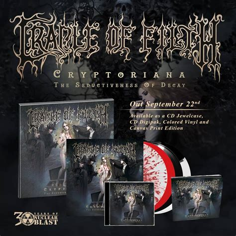 Victorian Goth review cradle of filth cryptoriana the seductiveness