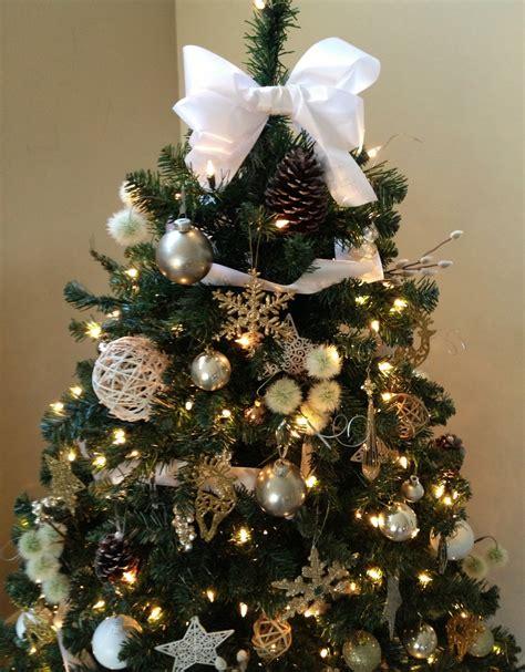 nice christmas trees nice ideas for bow christmas tree decoration happy
