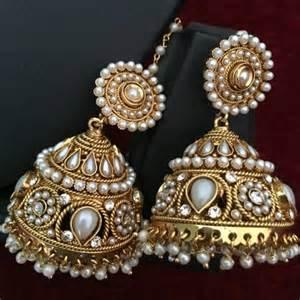 buy jhumka earrings buy ethnic indian fashion jewelry set traditional jhumka earrings