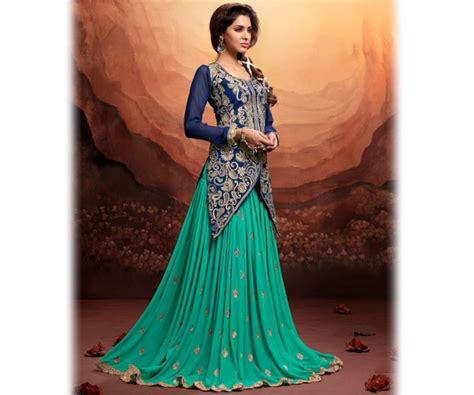 Adliya Dress Plain Series Green new indian jacket style dresses anarkali suits 2016 2017