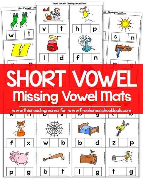 4 Letter Words All Vowels free vowel missing vowel mats instant