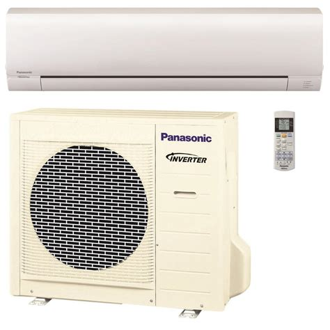 ductless mini split air conditioner panasonic 24 000 btu 2 ton pro series ductless mini split