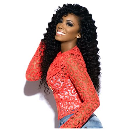 what kind of hair does porsha wear what of weave does porsha williams wear porsha williams