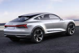 Audi Electric Car Sound Design Audi E Sportback Electric Concept Car Unveiled At