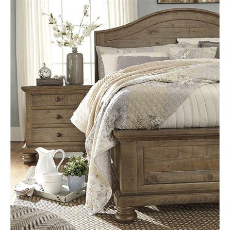 trishley queen bed frame ashley furniture farm house bedroom bedroom furniture sets home