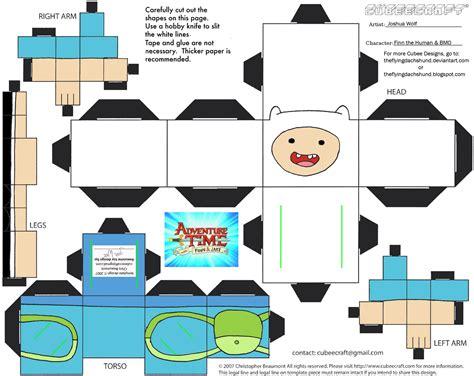 Papercraft Shows 2014 - boneco 3d hora de aventura 6 fazendo a nossa festa