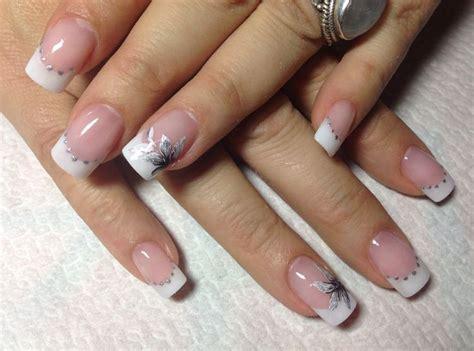 imagenes uñas decoradas punta blanca enero 2014 u 241 as en madrid manicura gel y acr 237 licas