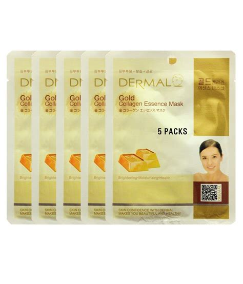 Dermal Pomegranate Collagen Essence Mask dermal gold mask best price in india on 30th march