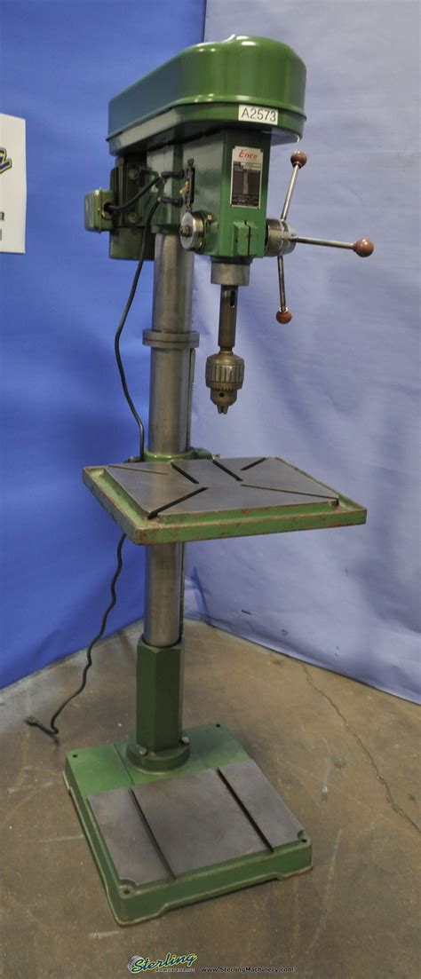 enco floor type drill press sterling machinery