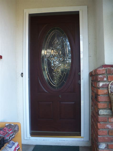 Front Doors Fun Activities Front Doors With Screen 108 Exterior Door With Built In Screen