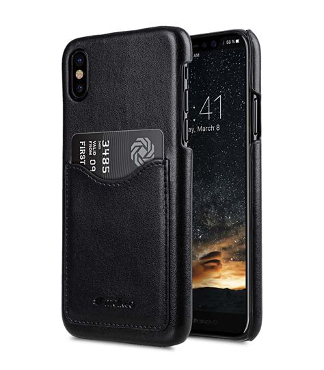 Pu Leather Slot Card Back Cover Casing Hp Samsung Note 5 mini pu leather card slot cover for apple iphone x black ver 2