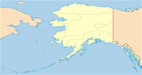 Alaska Search Map Of Alaska Images
