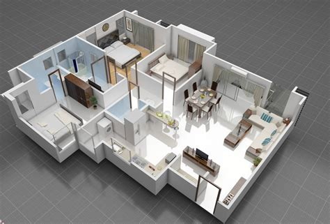home plans with interior pictures 3d front elevation com 3d interior of house plan