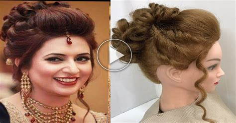 puff hairstyle for round face video puff hairstyles for long hair easy wedding hairstyles 3