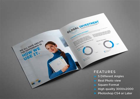 40 Epic Brochure Inspiration Daily Resources For Web Designers Developers By Andy Sowards Brochure Mock Up Template