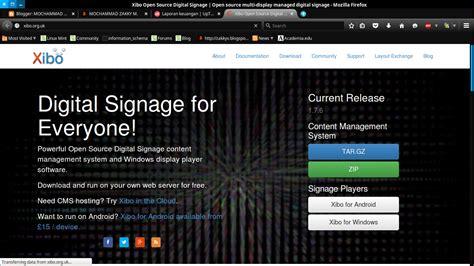 tutorial menggunakan xibo membuat aplikasi digital signage menggunakan cms xibo
