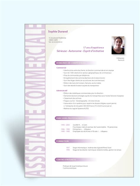 Création De Cv by Mod 232 Le Cv 233 Tudiant Original Sle Resume