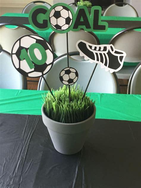 soccer centerpieces best 25 sports banquet centerpieces ideas on